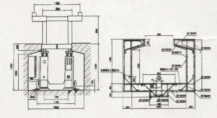 地沟移动式液压举升机10*2/20t(组)图片
